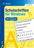 Schulschriften für Windows und Mac, CD-ROM und Handbuch