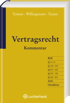 Vertragsrecht - Tamm, Marina;Tonner, Klaus;Willingmann, Armin