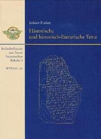 Historische und historisch-literarische Texte