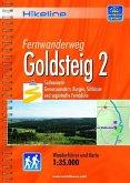 Hikeline Wanderführer Fernwanderweg Goldsteig 2