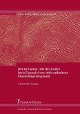 Der in Canon 1103 des Codex Iuris Canonici von 1983 enthaltene Ehenichtigkeitsgrund