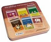 Die pfiffige Kartenspiel-Kiste Deutsch, 6 Kartenspiele