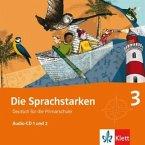 3. Klasse, 2 Audio-CDs / Die Sprachstarken Bd.3