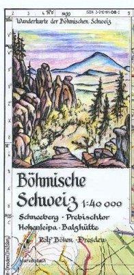 Böhmische Schweiz 1 : 40 000 - Böhm, Rolf