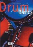 Drum Basics, für Schlagzeug m. Audio-CD