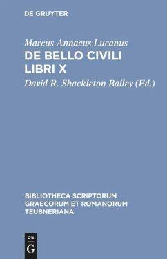 De bello civili libri X - Lucan