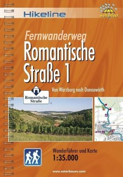 Hikeline Wanderführer. Fernwanderweg Romantisch...