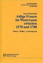Adlige Frauen im Weserraum zwischen 1570 und 1700