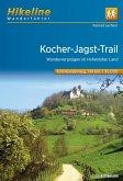 Hikeline Wanderführer Fernwanderweg Kocher-Jagst-Trail 1 : 35 000