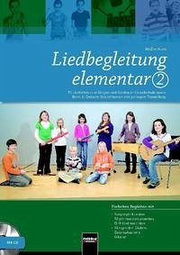 Liedbegleitung elementar 2. Heft und DVD - Kern, Walter