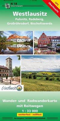 Westlausitz (vormals Pulsnitz und Umgebung) 1 :...