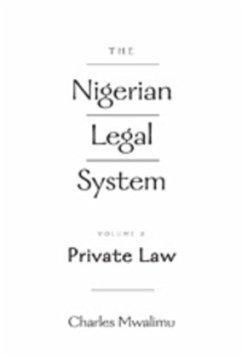 The Nigerian Legal System - Mwalimu, Charles