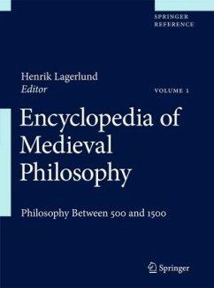 Encyclopedia of Medieval Philosophy 2 Volume Set