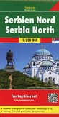 Freytag & Berndt Autokarte Serbien Nord; Noord Servie