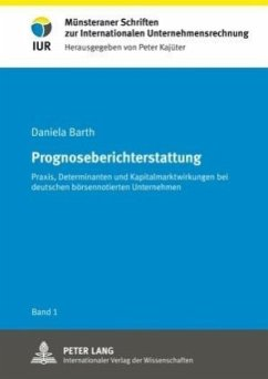 Prognoseberichterstattung - Barth, Daniela