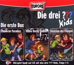 Die drei Fragezeichen-Kids - Die 1. Box, 3 Audio-CDs - Hitchcock, Alfred
