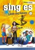 sing es, Liederbuch, m. Audio-CD
