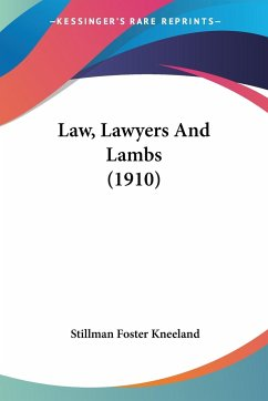 Law, Lawyers And Lambs (1910)