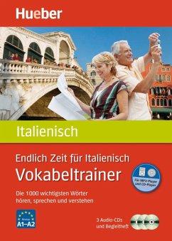 Endlich Zeit für Italienisch - Vokabeltrainer, 3 Audio-CDs - Rudolph, Hildegard