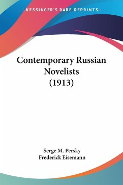 Contemporary Russian Novelists (1913)