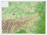 Österreich, Reliefkarte, Klein; Austria