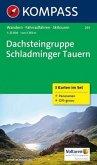 Kompass Karte Dachsteingruppe, Schladminger Tauern, 3 Bl. m. Kompass Naturführer Wiesenblumen