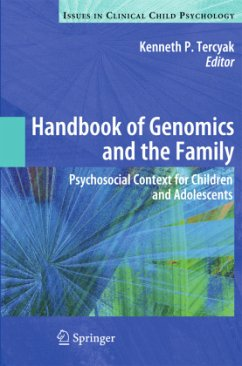 Handbook of Genomics and the Family - Tercyak, Kenneth P. (Hrsg.)