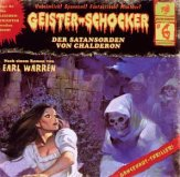 Der Satansorden von Chalderon / Geister-Schocker Bd.6 (1 Audio-CD)