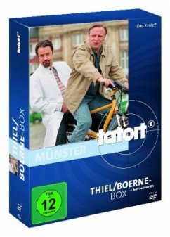 Tatort: Thiel/Boerne-Box (4 DVDs)
