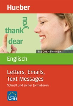 Taschentrainer Englisch Letters, Emails, Text Messages