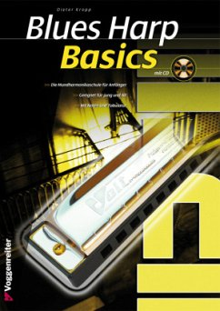 Blues Harp Basics, m. Audio-CD - Kropp, Dieter