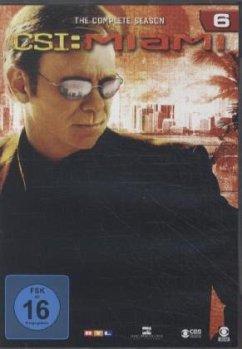 CSI: Miami - Season 6 (6 DVDs)