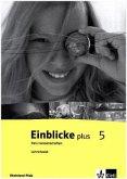 Einblicke plus Naturwissenschaften. Ausgabe für Rheinland-Pfalz. Lehrerband 5. Schuljahr