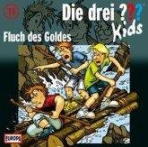 Fluch des Goldes / Die drei Fragezeichen-Kids Bd.11 (1 Audio-CD)