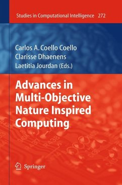 Advances in Multi-Objective Nature Inspired Computing