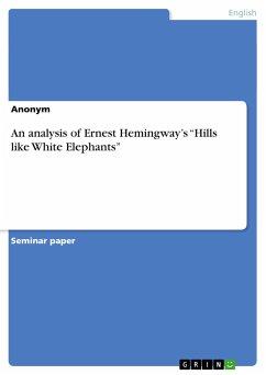 An analysis of Ernest Hemingway's
