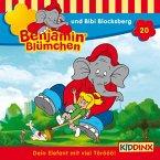 Benjamin Blümchen und Bibi Blocksberg / Benjamin Blümchen Bd.20 (1 Audio-CDs)