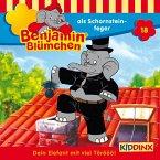 Benjamin Blümchen als Schornsteinfeger / Benjamin Blümchen Bd.18 (1 CD-Audio)