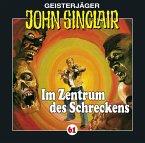 Im Zentrum des Schreckens / Geisterjäger John Sinclair Bd.61 (1 Audio-CD)