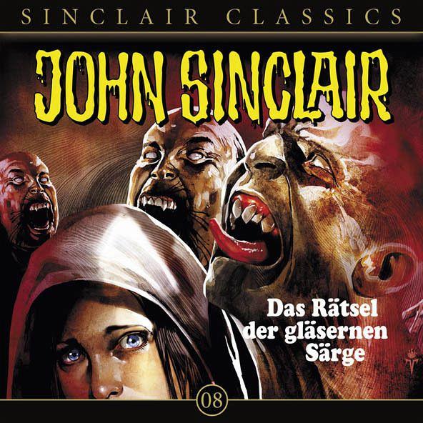 Das Rätsel der gläsernen Särge / John Sinclair Classics Bd.8 (1 Audio-CD) - Dark, Jason