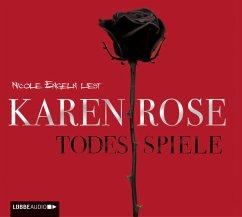Todesspiele / Todestrilogie Bd.3 (5 Audio-CDs) - Rose, Karen