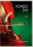 5./6. Schuljahr, 5 Audio-CDs / Rondo, Musiklehrgang für weiterführende Schulen, Neubearbeitung