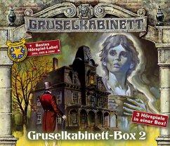Gruselkabinett-Box 2, 3 Audio-CDs - Bulwer-Lytton, Edward George; James, Henry; Leroux, Gaston