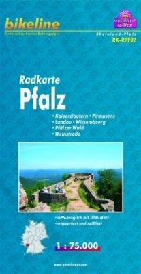Bikeline Radkarte Pfalz