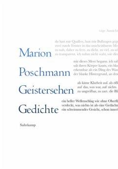 Geistersehen - Poschmann, Marion