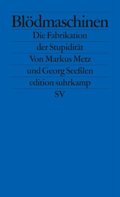 Blödmaschinen - Metz, Markus;Seeßlen, Georg