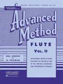 Rubank Advanced Method: Flute, Vol. II
