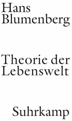 Theorie der Lebenswelt - Blumenberg, Hans
