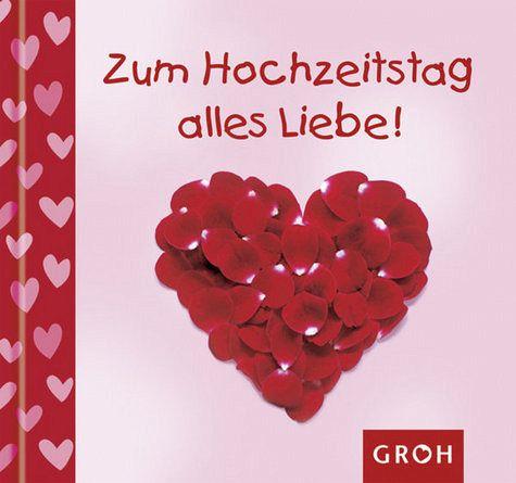 Zum Hochzeitstag alles Liebe - von Lilly Brown - Buch - buecher.de