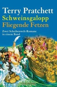 Schweinsgalopp & Fliegende Fetzen / Scheibenwelt Bd.20&21 - Pratchett, Terry